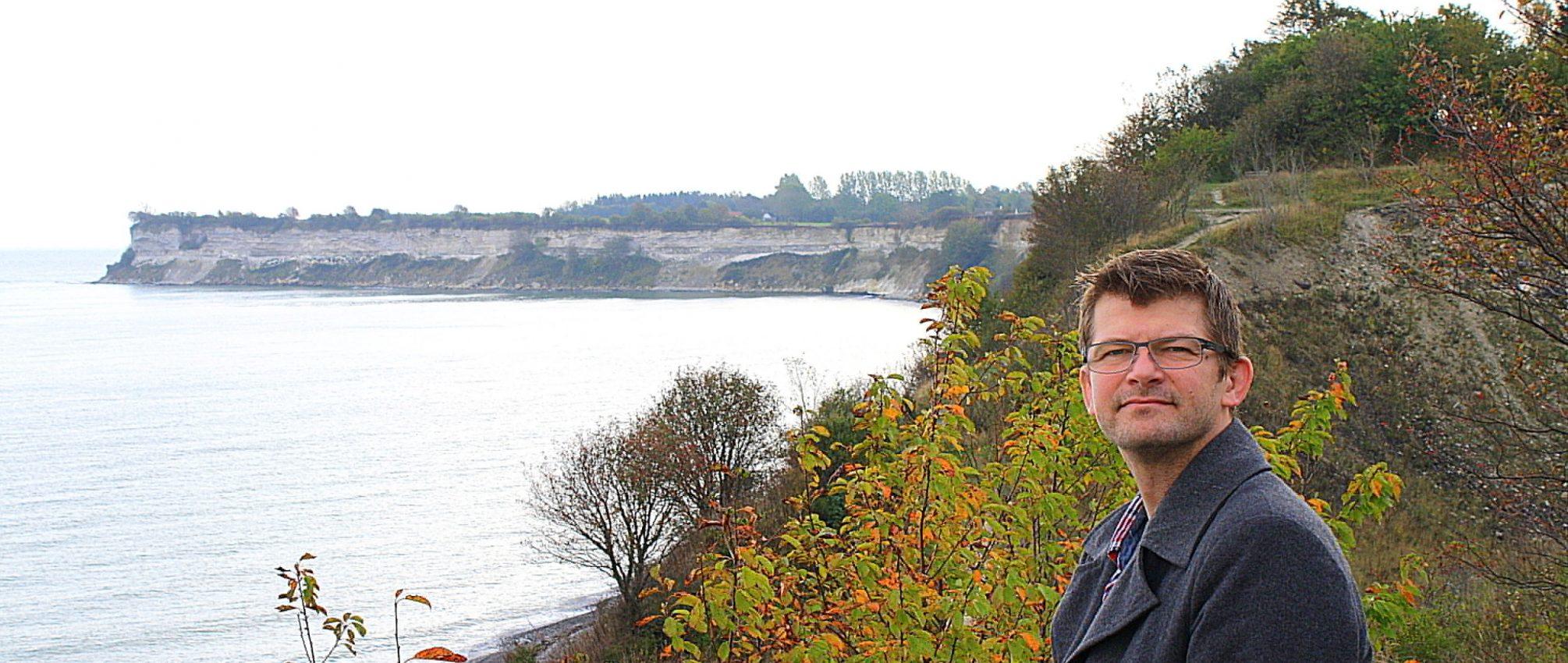 Psykoterapeut MPF Kim Matzen ved Stevns Klint
