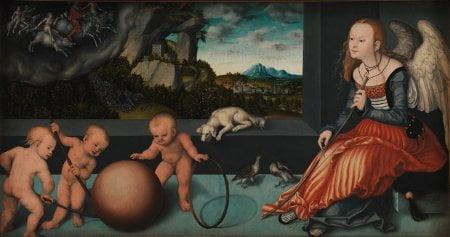 Lucas Cranach den ældre.. Melankolien,1532